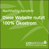100% �kostrom-Hosting durch UD Media
